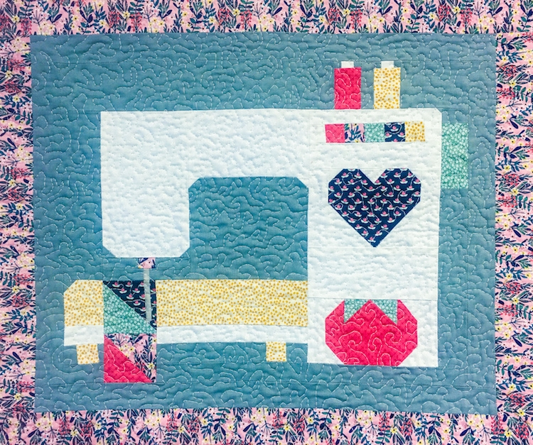 stitched with love kit Sewing Room Quilt Kit