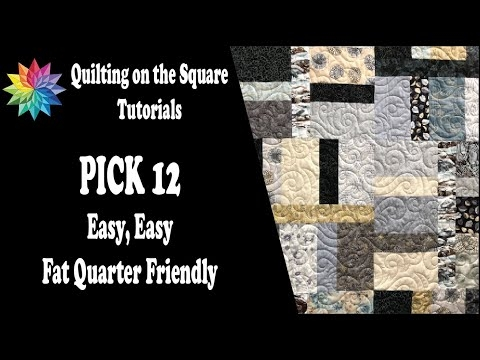 pick 12 easy beginner fat quarter quilt Quilting On The Square