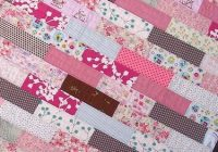 40 easy quilt patterns for the newbie quilter pink quilts Patchwork Quilt Designs For Beginners