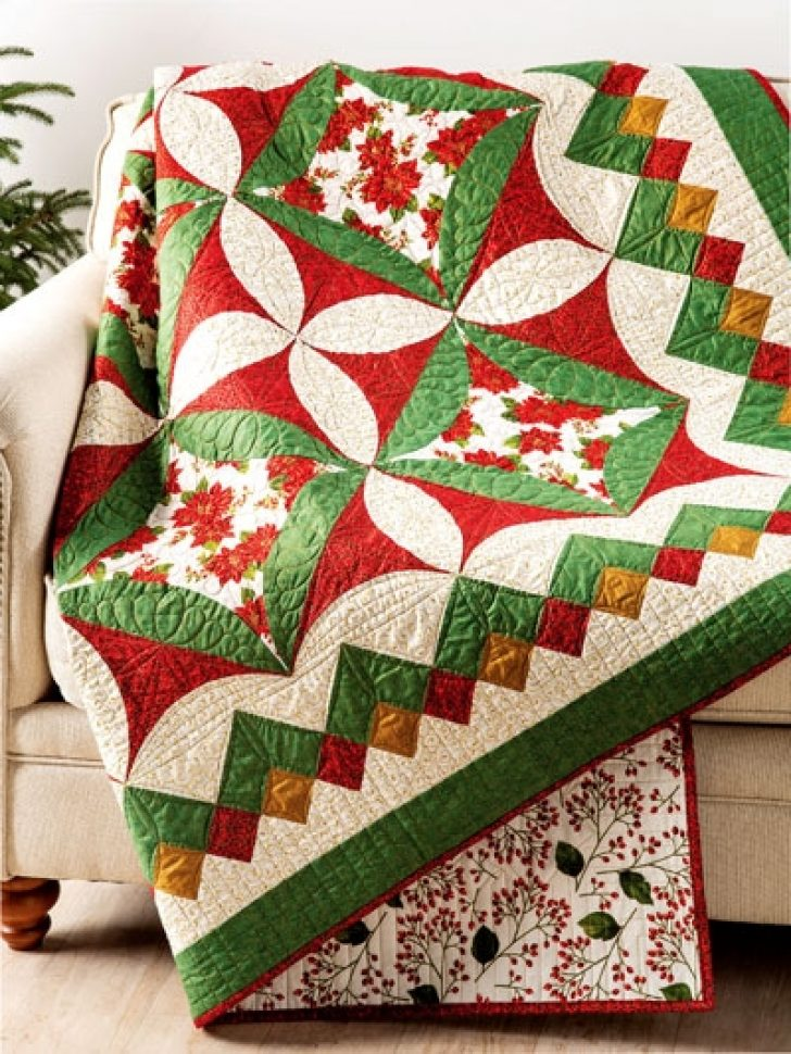 Permalink to Perfect Christmas Quilt Patterns Ideas