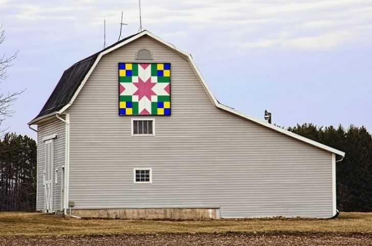 Permalink to 9   Why Quilt Pattern On Barn