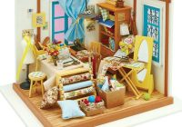 diy miniature sewing quilting room kit Sewing Room Quilt Kit
