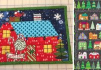 first snow free christmas quilt block part 2 quilting daily Without Christmas Quilt Pattern