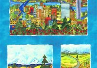 for those of us who love portland oregon this collection Quilt Fabric Portland Oregon
