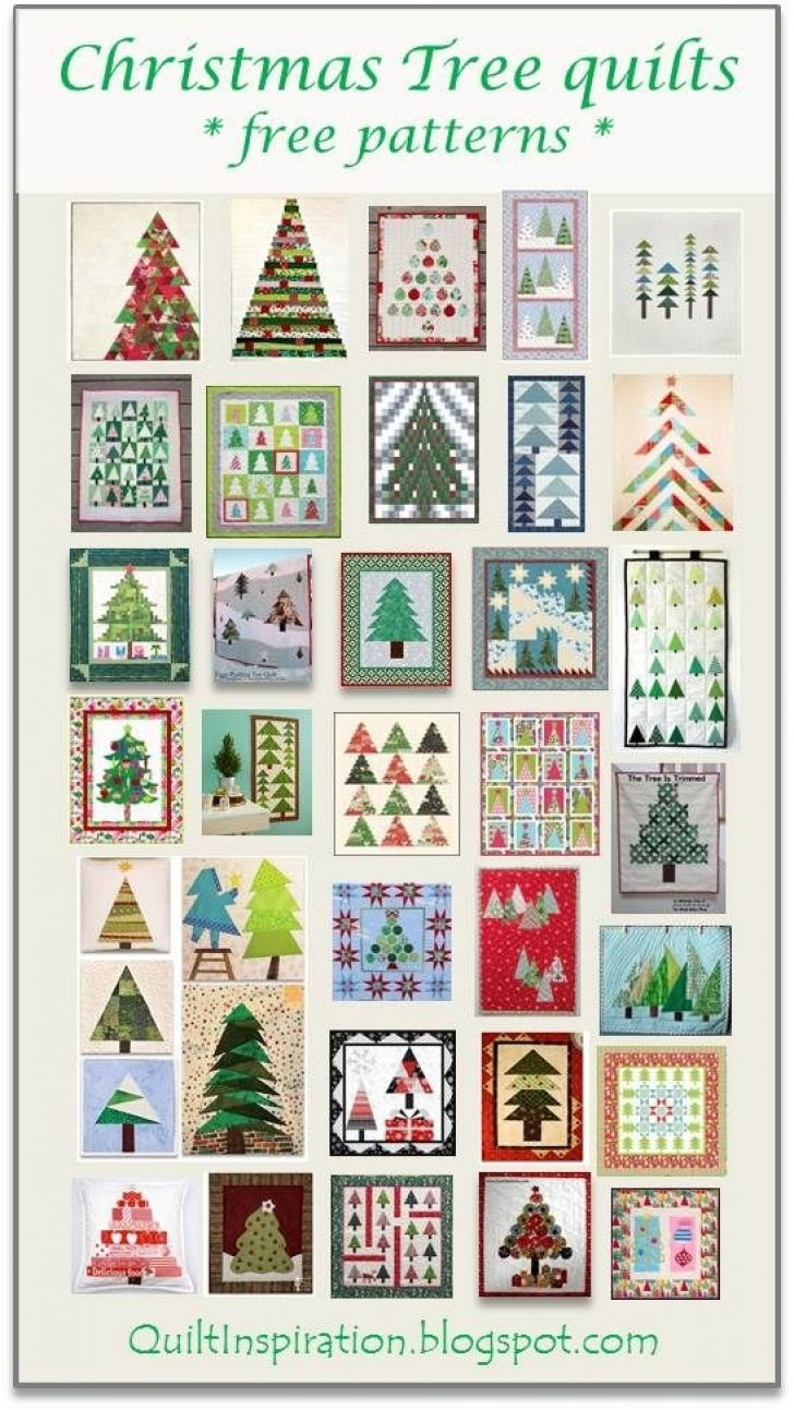 Permalink to 9 Perfect Christmas Quilt Designs Free