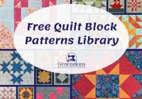 free quilt block patterns library Is Quilt Pattern