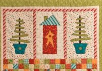 home for christmas wall quilt is a cheery welcome quilting Home For Christmas Quilt