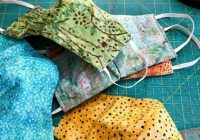 making your own mask is easy and no you dont need a Is Quilting Cotton Good For Masks