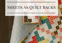 meadow mist designs flat sheets as quilt backings Backing For Patchwork Quilt