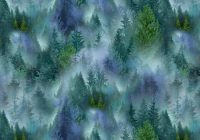 mountain vista c7465 multi trees timeless treasures hingeley road quilting Quilt Fabric Timeless Treasures