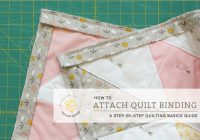 quilt binding attaching the binding village bound quilts Sewing Your Quilt Together