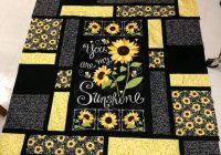 you are my sunshine panel quilts fabric panel quilts Quilt Pattern For You Are My Sunshine Panel